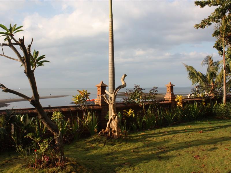 a garden to ocean